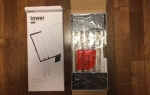 山崎実業 tower タワー マグネット伸縮洗濯機バスタオルハンガー