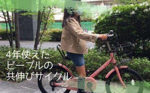 長く乗れる子供自転車を探して購入したピープルの共伸びサイクルを4歳から4年使った感想